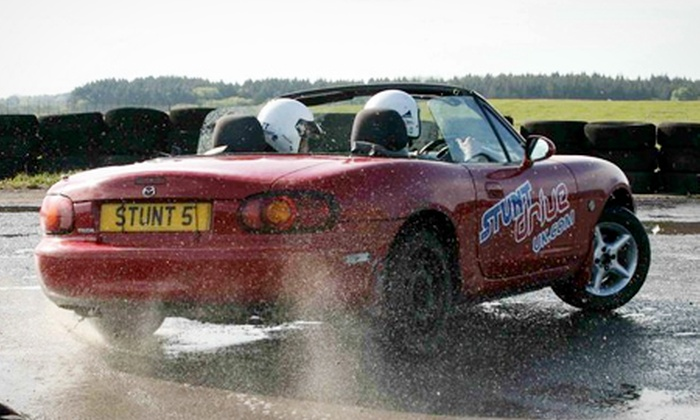 Stunt Drive UK - Pembrey: Stunt Driving Experience for £59 with Stunt Drive UK (60% Off)
