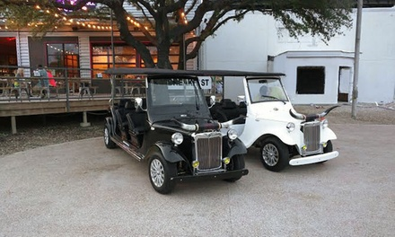 Electric Cruizer Dallas City Tour for Two, Four, or Six at Dallas City Tours (Up to 50%Off)
