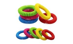 4 bracelets anti-moustiques