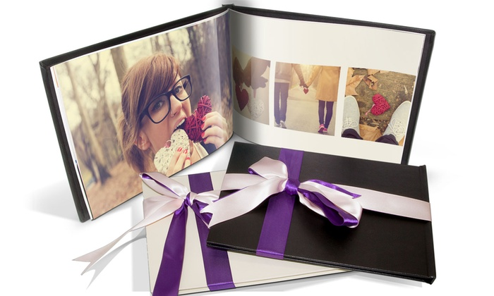 Printeripx: Valentina-Fotobuch A4 mit 20, 40 oder 60 Seiten von Printerpix (bis zu 91% sparen*)
