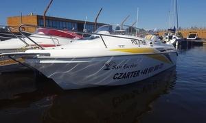 Pomerania Yachts Charter: Godzinne wypożyczenie jachtu motorowego dla 5 osób za 139,99 zł i więcej opcji w Pomerania Yachts Charter (do -38%)