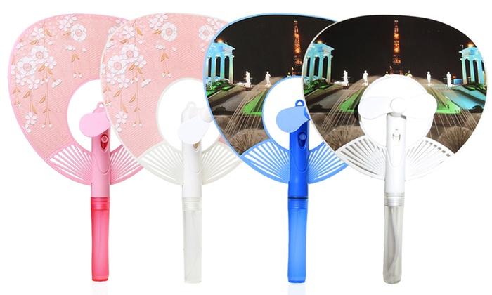 Clips N Grips 3-in-1 Mini Handheld Mist Fan