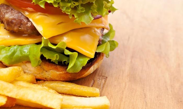 B&R's Old Fashion Burgers - Hawthorne: Burger Meal for Two or Four at B&R's Old Fashion Burgers (Up to 48% Off)