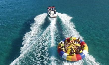 Actividad acuática en aquatwister de 10 minutos para 2, 4 o 6 personas desde 36 € en Gran Canaria Water Sport