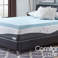 Groupon.com deals on Comforpedic Loft from Beautyrest 3-in Gel Memory Foam Toppers