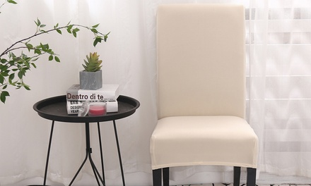 Stretchable Dining Chair Covers in Choice of Colour: Two ($17), Four ($29), Six ($39) or Eight ($45)