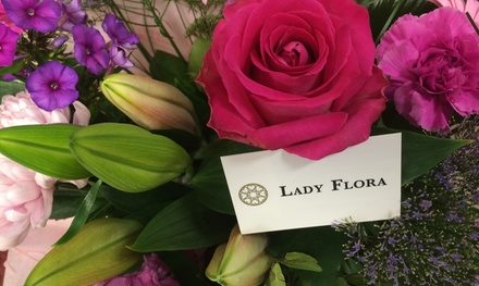 Up to £30 to Spend on Bouquets at Lady Flora