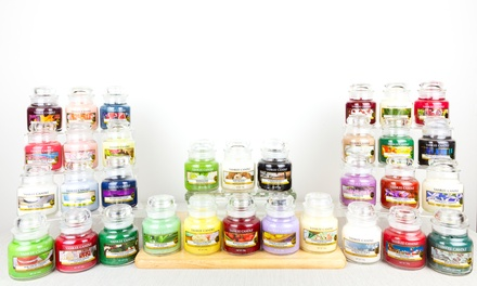 SixPack of Yankee Candle Assorted Small Jar Candles
