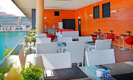 Menú premium con vistas al mar para dos personas con entrante, principal y postre o café desde 29,90 € en Mirandoalmar