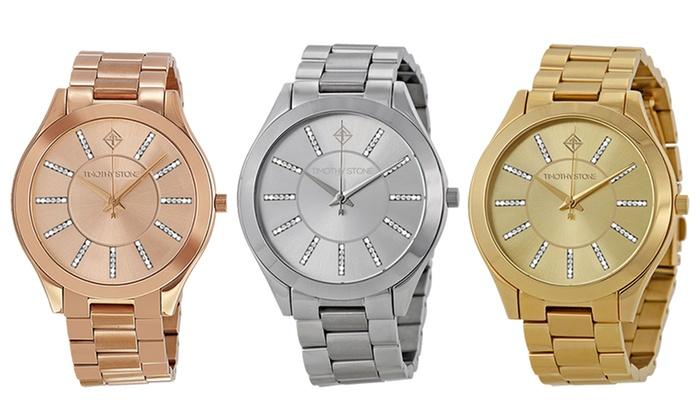 Relojes Timothy Stone con cristales SWAROVSKI | Groupon Goods