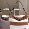 MKF Collection Emily Stripe Hobo Handbag by Mia K. Farrow