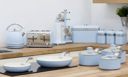 Swan 13-Piece Retro Kitchen Set | Groupon Goods
