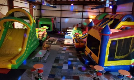 Open Play for One, Two, or Four, or Birthday Party Package for Eight at Jump Mania (Up to 40% Off)