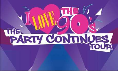 I Love The 90's: The Party Continues Tour feat. TLC, Blackstreet, and More on Friday, July 28, at 7:30 p.m. 5734671e-1547-4745-b0ad-b804ef2479cb