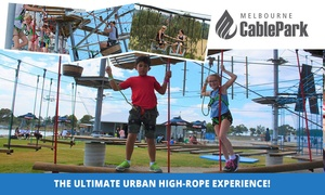 Melbourne Cable Park: One Hour on Kids Rope ($19) or Two Hours on Adult Urban High Ropes Course ($29) at Melbourne Cable Park (Up to $59 Val)