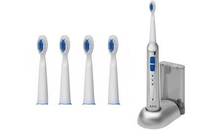 Brosse à dents électrique AEG EZS 5664 et deux têtes de brosses a dents