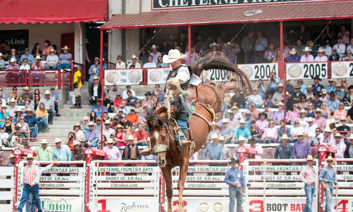 Cheyenne Frontier Days Up To 54 Off Prca Rodeo For Two