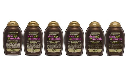 $19 for a SixPack of Ogx Shea Soft Smooth Conditioner 385ml Don't Pay $159.78