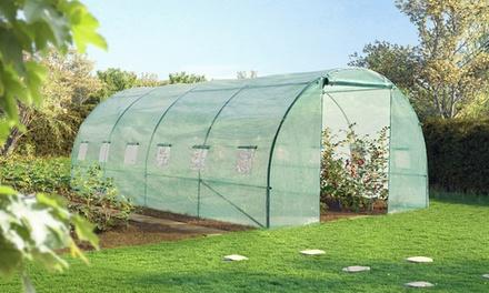 Serre de jardin de 18m² avec 5 arceaux