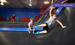Up to 56% Off Play Time at Indoor Trampoline Park at AZ Air Time, plus 6.0% Cash Back from Ebates.