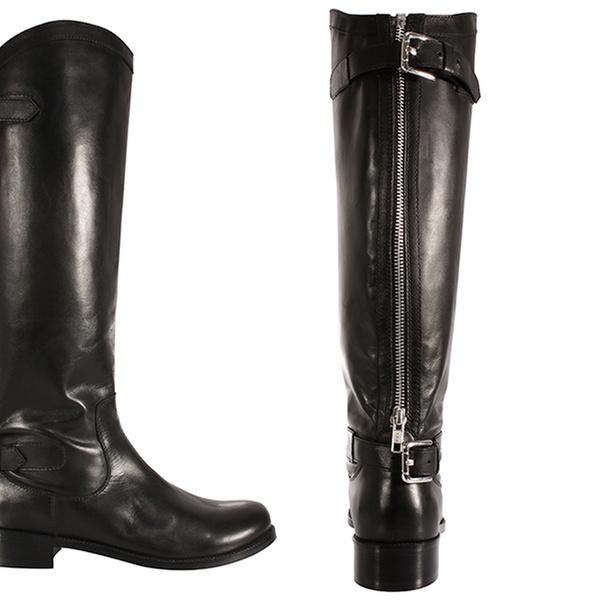Bottes cavalières femme 100% cuir, coloris au choix à 69,98€ (74% de réduction)