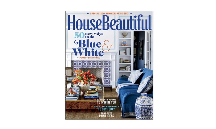 Subscription To House Beautiful Groupon Goods