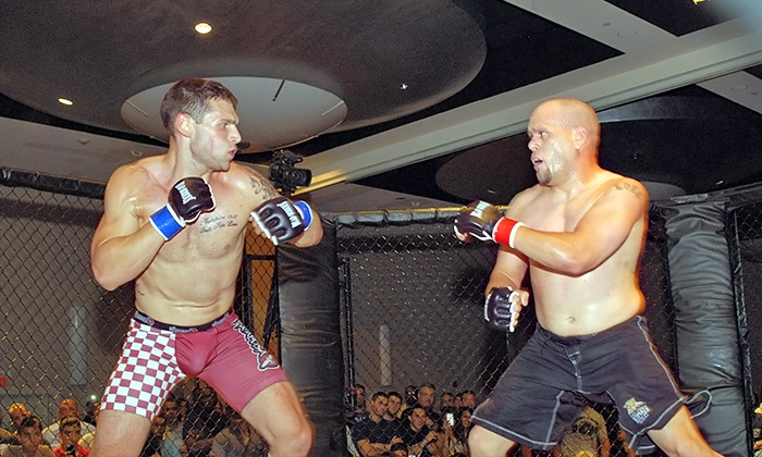 "MMA Cage Fighting Series ""Battle In The Ballroom"" - ROBERT TREAT HOTEL: MMA Cage Fighting Series ""Battle In The Ballroom"" for One at the Robert Treat Hotel on Saturday, February 28 (39% Off)"