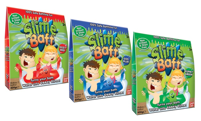 Slime Baff Two Bath Pack in Choice of Three Colours for £6.98