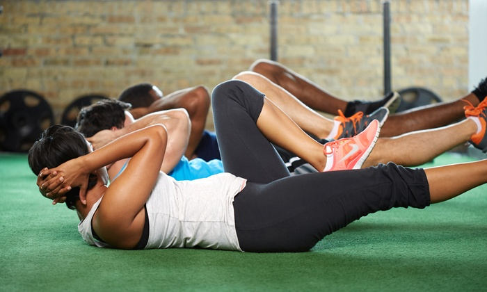 Fitness Anywhere - Amherstburg: 10 or 15 Boot Camp or Strength Conditioning Classes at Fitness Anywhere (Up to 57% Off)