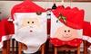 Fundas navideñas para sillas