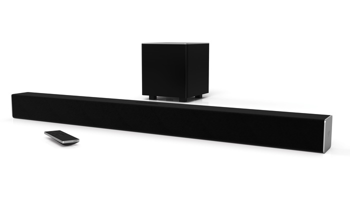 Vizio Smartcast 2 1 Channel Sound Bar System Manufacturer Refurbished
