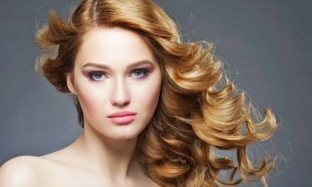 Haircut Package at Salon Vanity (Up to 50% Off). Four Options Available.