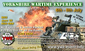 Yorkshire Wartime Experience: Yorkshire Wartime Experience, 7–8 July in Bradford (Up to 37% Off)