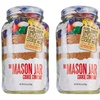 2-Pack of Mason Jar Cookie Company Jelly Bean Cookie Kits