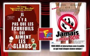 Festival d'Avignon, 2 spectacles au choix au Laurette Théâtre