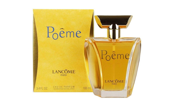 Lancome Spray Delivery 100ml Women De Free Eau Poeme Parfum For With fyv76ImYbg
