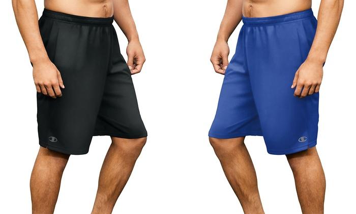 f49b5fd7 Champion Men's Shorts (2-Pack) | Groupon Goods