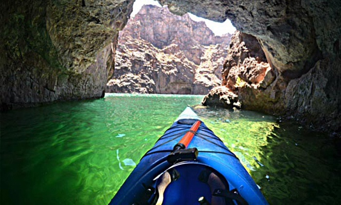 Half-Day Guided Kayaking Trip with Transportation To and From The Strip from Blazin' Paddles (Up to 54% Off)