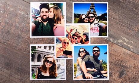Revelado de fotos en formato cuadrado de 10x10 o 13x13 cm con 20 o 50 unidades desde 3 € con Colorland