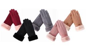 (Mode)  Gants chaud tactiles Joanna -74% réduction
