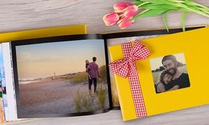 Colorland : Een eco-leren of textiel fotoboek van jouw mooiste herinnering in A4-formaat bij Colorland