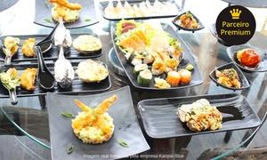 Restaurante Kanpai Blue - Jardim Goiás: Festival japonês executivo ou Blue para 1 ou 2 pessoas no Kanpai Blue – Jardim Goiás