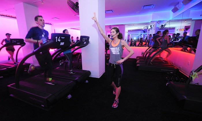 Mile High Run Club - New York City: Three or Five Classes at Mile High Run Club (Up to 27% Off)