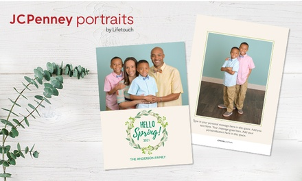 Holiday cards + photography from JCPenney Portrait (Up to 82% Off)