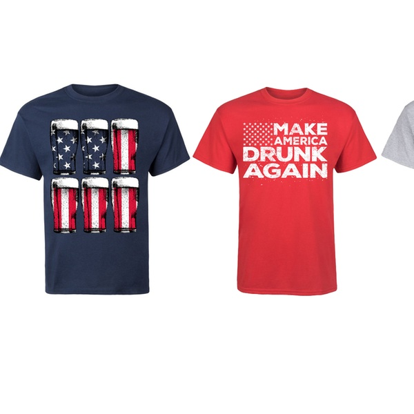 8e32ade1746862 Up To 60% Off on America Men s Tee