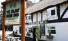 Ye Olde Hob Inn Restaurant Bar & Grill - Ye Olde Hob Inn: Two-Course Meal with Wine for Two or Four at Ye Olde Hob Inn Restaurant Bar and Grill (Up to 39% Off)