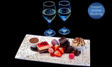 $29.90 Dessert Tasting Platter with Wine for Two People at Damon Bradley Up to $50.95 Value
