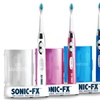 Sonic-FX Toothbrush with UV Sanitizer and 12 Brush Heads