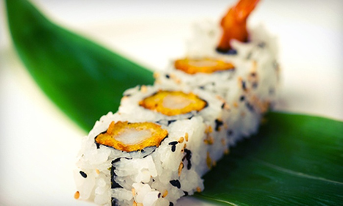 Sushi Eight - Brantford: $12 for $25 Worth of Japanese Fare for Two or More at Sushi Eight