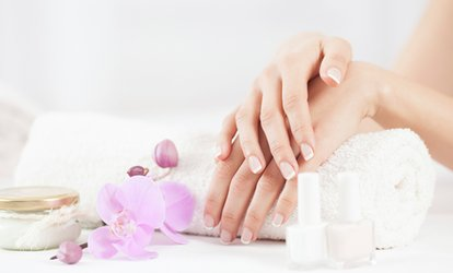 image for Signature Manicure or Pedicure or Both at Roosevelt Nails Bar (Up to 46% Off)